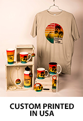 Custom Souvenirs - Mugs, Shirts, Magnets, Bottle Openers, Shot Glasses